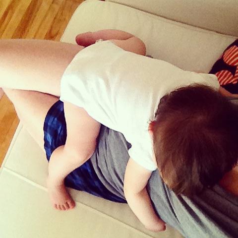 Lo que tu bebé necesita, eres tú